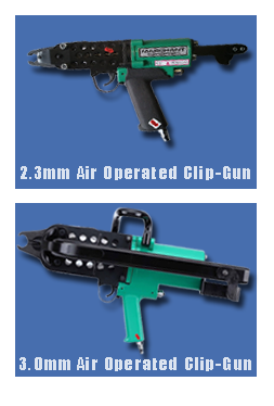 Air Operated Clip Guns